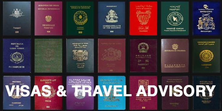 Visa and Travel Advisory