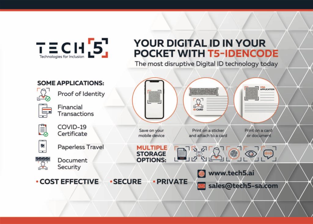 TECH5 Advert