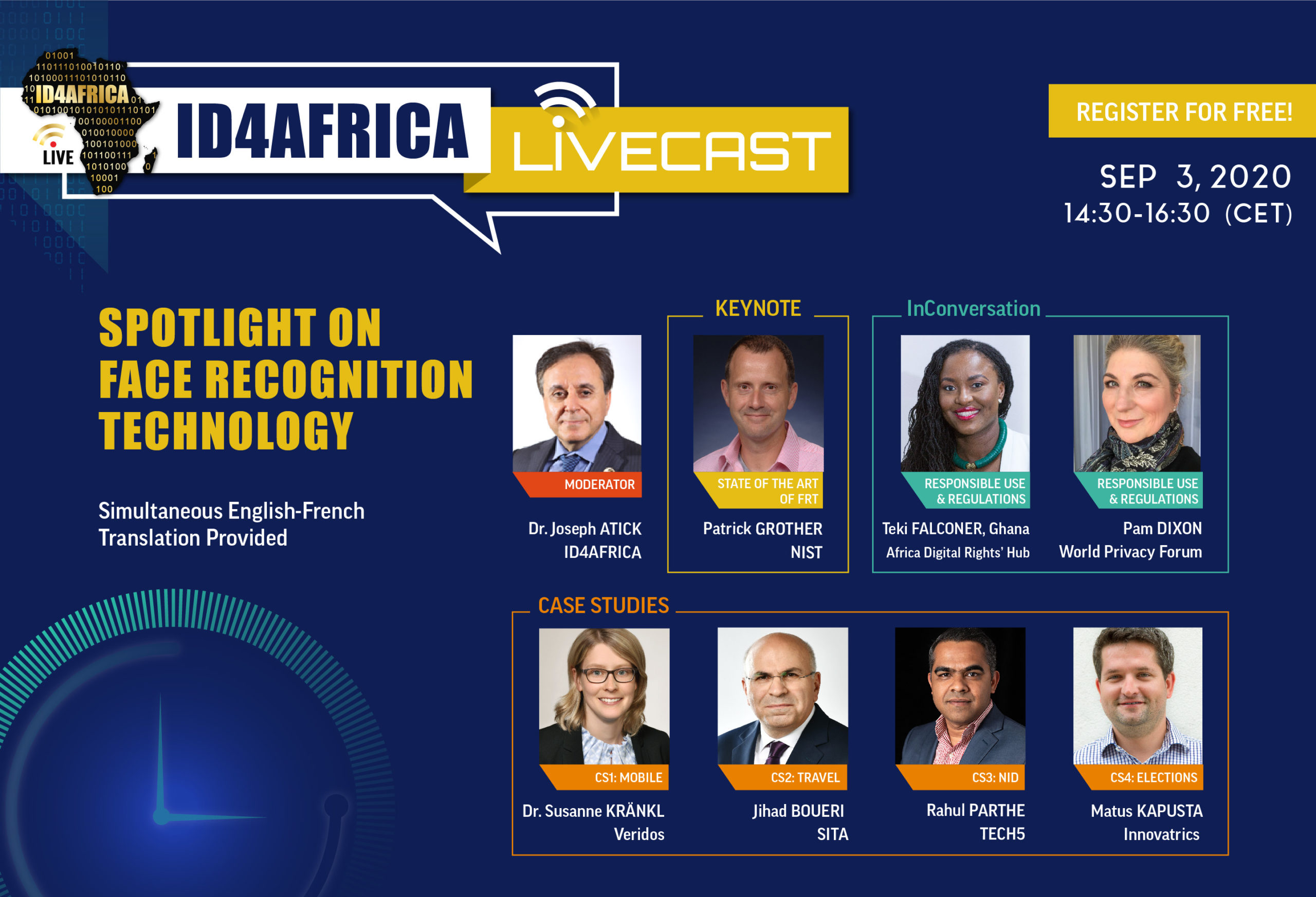Spotlight on Face Recognition Technology LiveCast Webinar
