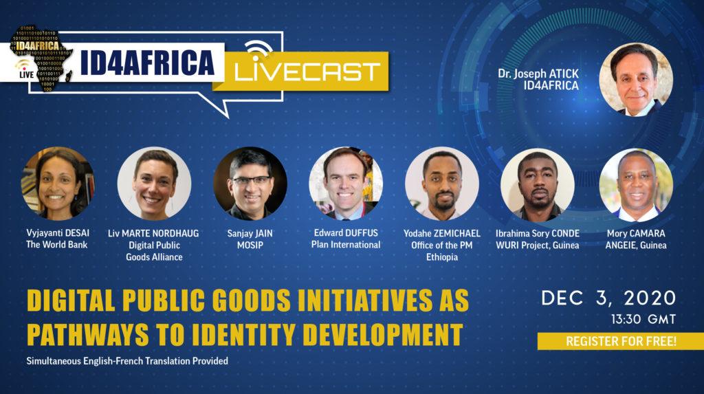 id4africa livecast public goods initiatives identity development
