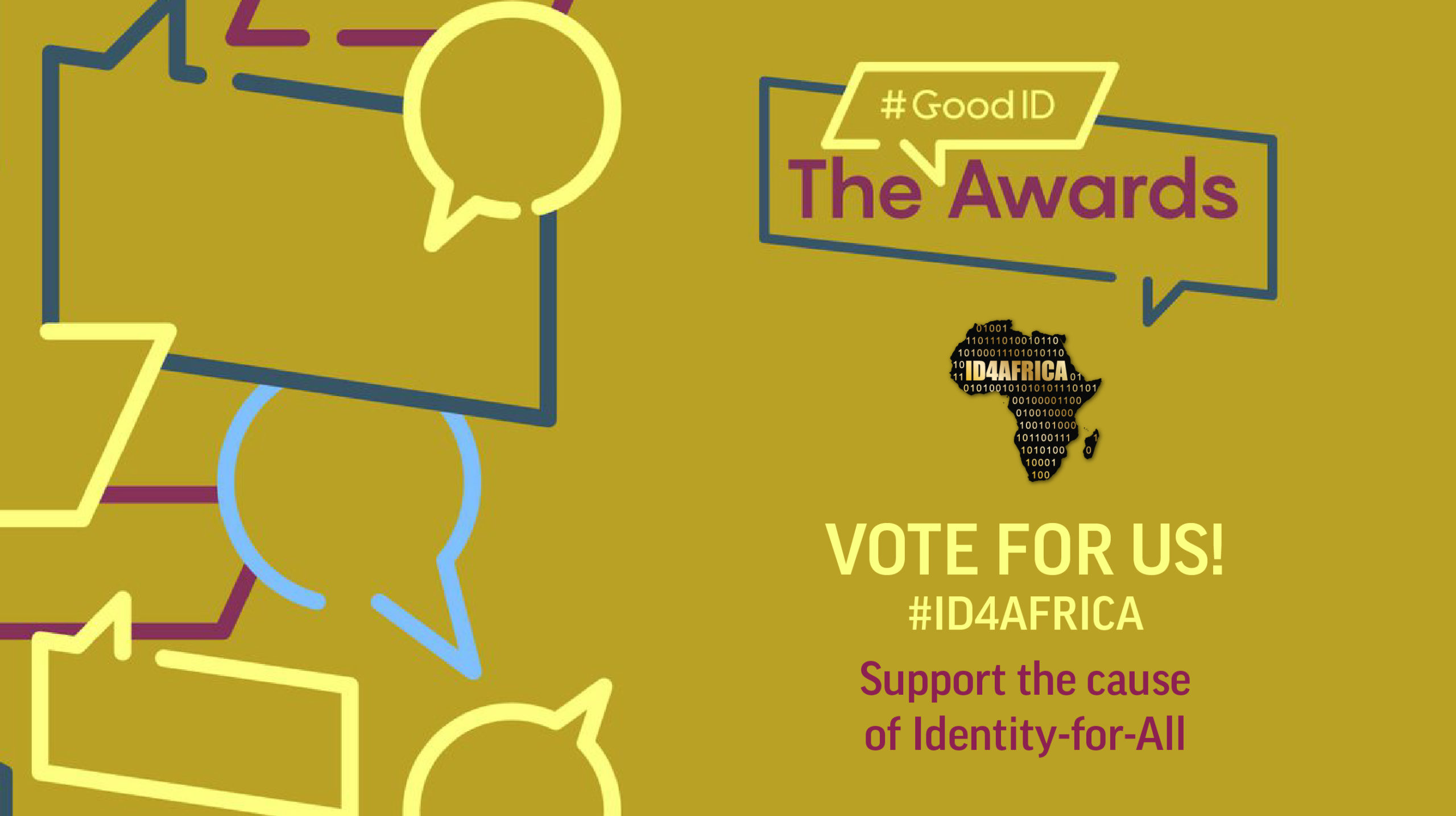 Vote for ID4Africa in the #GoodID Awards at https://www.good-id.org/en/awards/2021