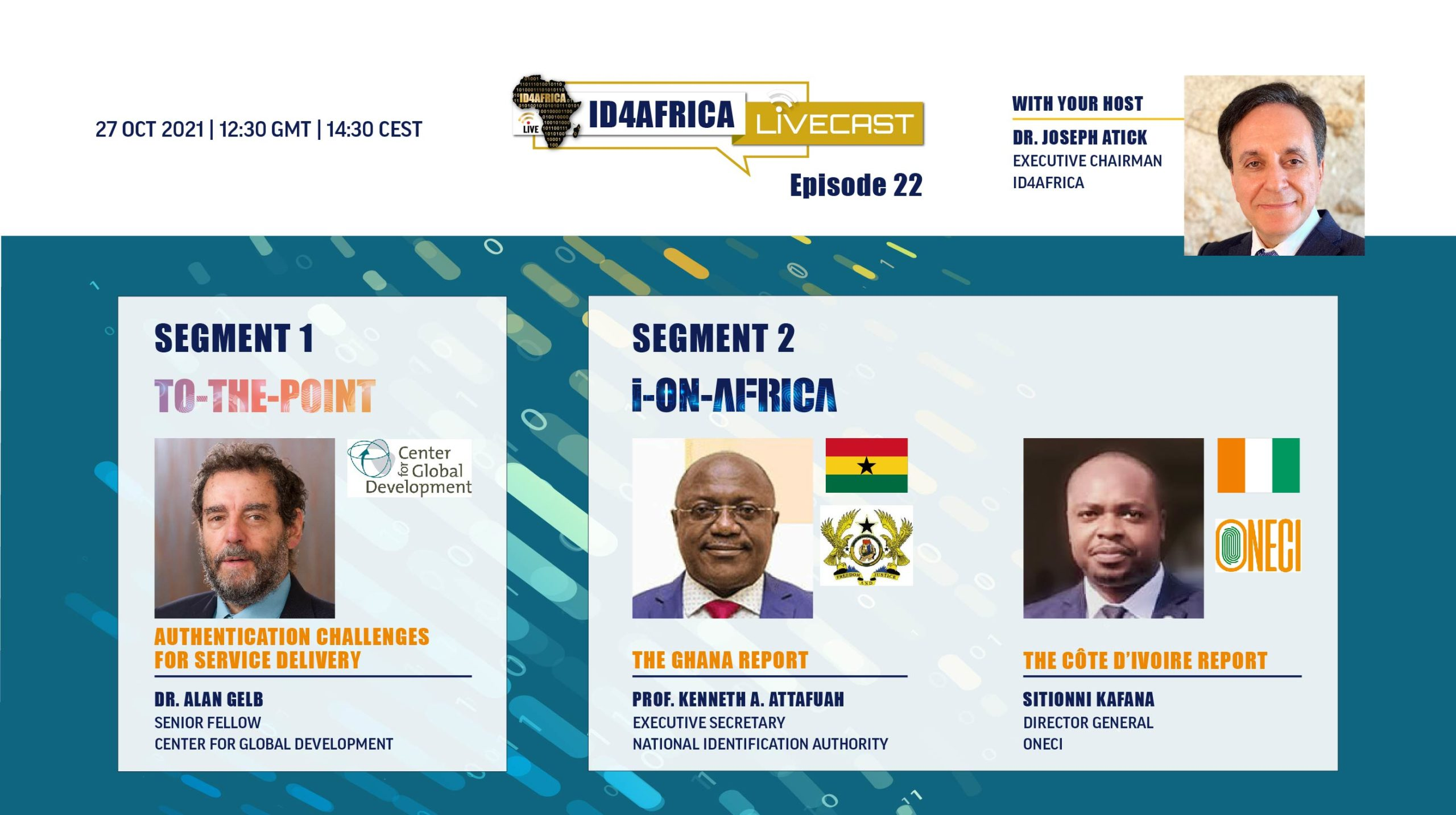 Register for our upcoming LiveCast with Ghana & Cote d'Ivoire